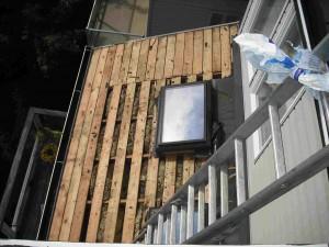 Cedar Roof Tear Off in Progress