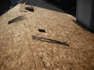 What is sheathing for Fiberboard roof sheathing