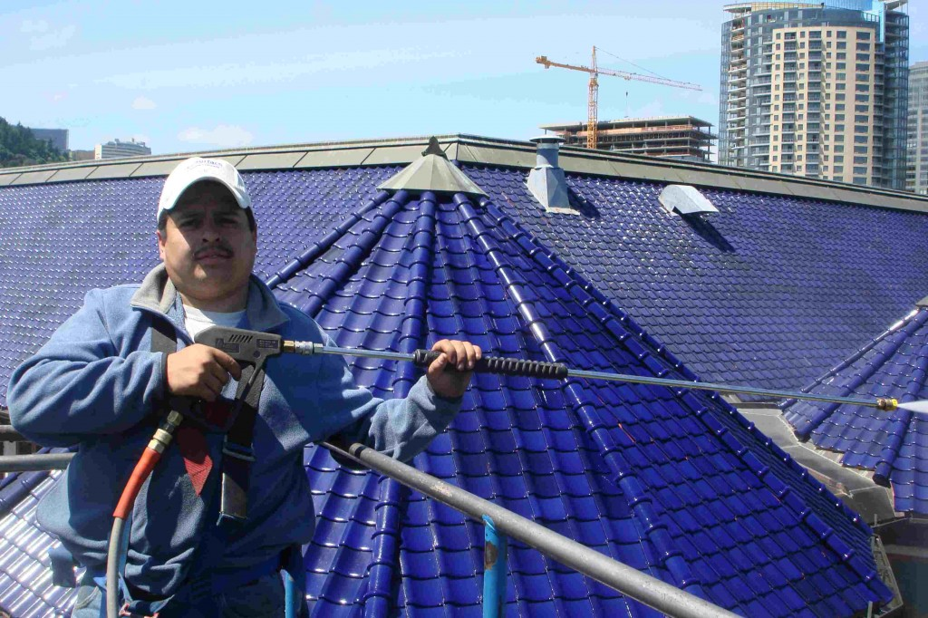 No roof cleaning job is too big for All Surface