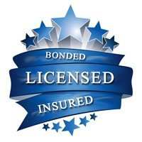 bonded, licensed, insured