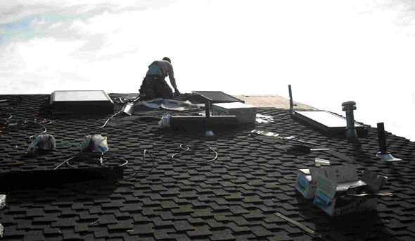 advantages roof replacement