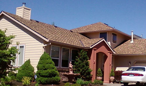 Contemporary Roof – Presidential Shingles